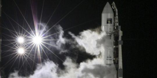 La sonde Phobos-Grunt a été lancée dans la nuit de mardi à mercredi par une fusée Zenit