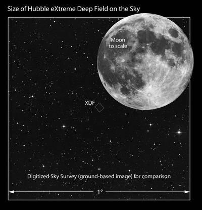 Hubble voit l'univers 500 millions d'années après le Big Bang Rtemagicc_hubble_extreme_deep_field_1_nasa_esa_txdam32253_b07fab-1