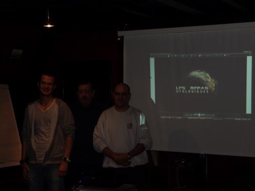 Repas Ufologiques de Strasbourg 7/12/2012http://ufoetscience.wordpress.com/