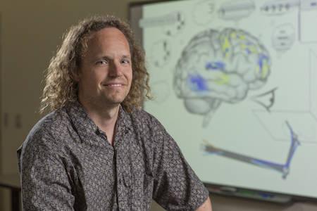 Chris Eliasmith est l'un des concepteurs de Spaun, nom de code pour Semantic Pointer Architecture Unified Network. © Université de Waterloo