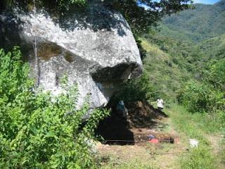 L'abri sous roche Casita de Piedra.