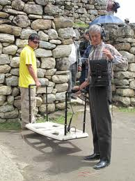 Analyse du sous-sol à sur le site de Machu Picchu