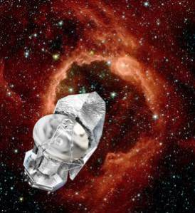 Représentation d'artiste de l'observatoire spatial Herschel. Les observations avec le satellite Herschel devraient cesser en février ou en mars 2013, soit presque quatre ans après son lancement. © D. Ducros, Esa