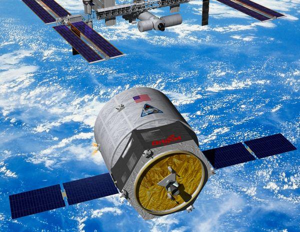 Projet du cargo spatial Cygnus de la société privée Orbital Sciences