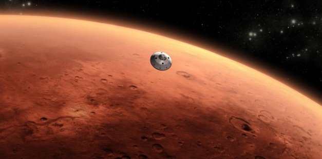 Envoyer des astronautes rejoindre Curiosity sur Mars serait possible d'ici 20 ans selon la Nasa. NASA/JPL-Caltech