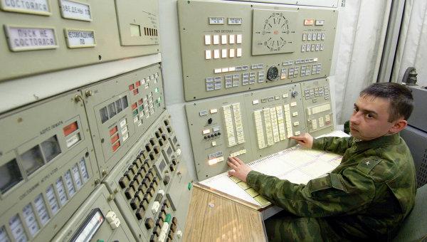 Un poste de commandement des Troupes balistiques stratégiques russes © RIA Novosti. Sergueï Piatakov