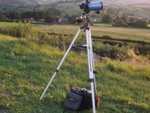 Télescope T20 administrateur investigations ufoetscience crédit image: investigations ufoetscience/ Cercle suricate 71