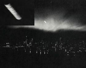 L'OVNI cylindrique de New York, É.-U., 20 mars 1950. source image: ovniquebec.info/