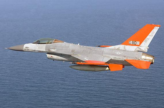 Un avion de chasse de 12 tonnes... sans pilote. - US Air Force crédit: les echos