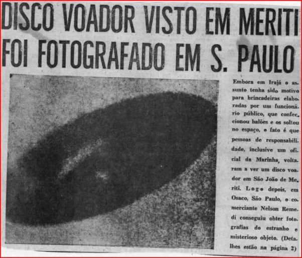crédit image: gogguzo.com/ Brésil document secret relatif aux OVNIS déclassifié