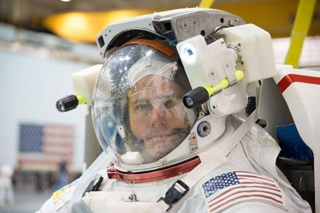 astronaut Reid Wiseman  credit: NASA