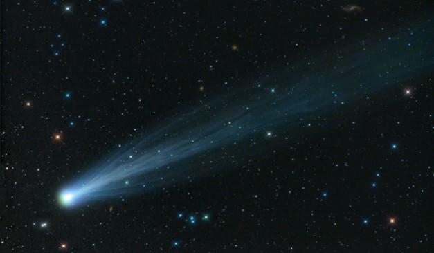 La comète ISON, photographiée par Damian Peach le 15 novembre 2013. Photo D. Peach.