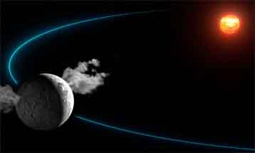 © IMCCE-Observatoire de Paris / CNRS / Y.Gominet Cérès, le plus gros astéroïde du Système solaire