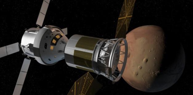 La mission de survol de Mars et Vénus (crédit image :Inspiration Mars http://inspirationmars.org) Inspiration Mars (http://inspirationmars.org)