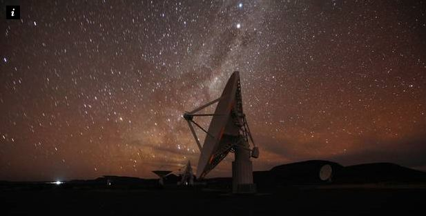 """Possibilité d'existence d'une vie microbienne extraterrestre «proche de 100%"""" selon les scientifiques de SETI  Crédit photo : Independent.co.uk"""
