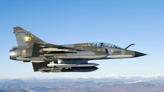 Le boum entendu au-dessus de Rennes, Fougères et Saint-Malo ? C'est un Mirage 2000 qui franchi le mur du son.© AFP PHOTO / ECPAD