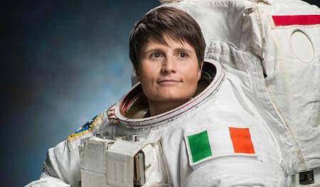 L'astronaute italienne Samantha Cristoforetti credit ESA