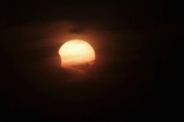 Une éclipse à Amman en 2013. © Reuters Paris-Match