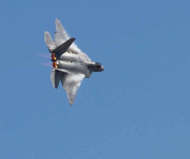 Lockheed Martin F 22 Raptor credits Nathan Rupert (CC BY-NC-ND 2.0)