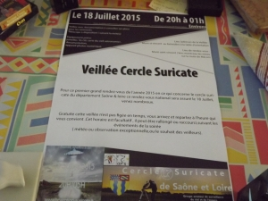 affiche crédit: Matisse  cercle suricate de Saône&Loire @