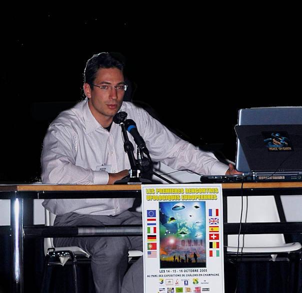 Fabrice Bonvin Crédit photo: lesrencontresufologiques.files.wordpress.com
