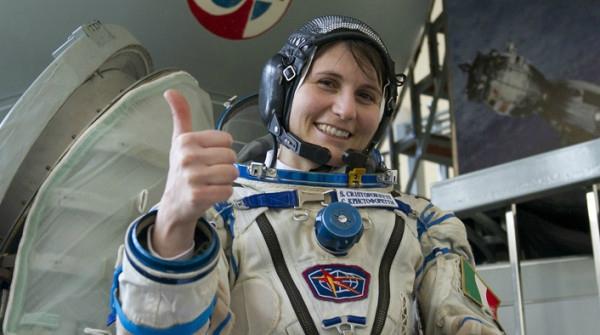 l'astronaute Samantha Cristoforetti de l'ESA Crédit photo/ESA