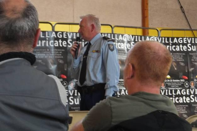 conférence sur les drones par la Gendarmerie crédit photo: opération suricate ©