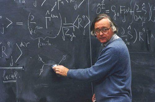 Van Nieuwenhuizen, l'un des créateurs des théories de supergravité. Crédit : Eric Michelson