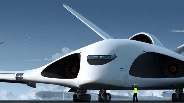La conception artistique du nouveau avion-cargo (Conception : Alekseï Komarov, Volga-Dniepr Group) crédit: francais.rt.com/lemonde
