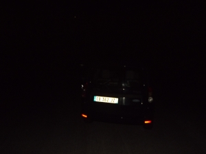 Ma voiture dans la nuit © 2016Matisse s