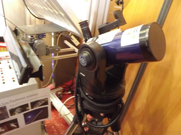 télescope Meade 90x1250 du lycée Léon Blum le Creusot credit photo: Matisse sylvain ©octobre 2016