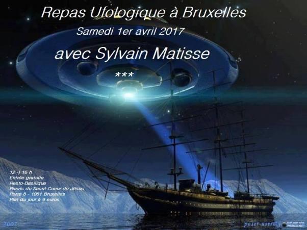 crédit repas ufologique Bruxelles ( Belgique)