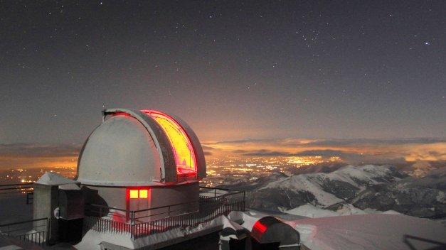 Observatoire Astronomique du Pic du Midi de Bigorre crédit photo: francejetaime.net